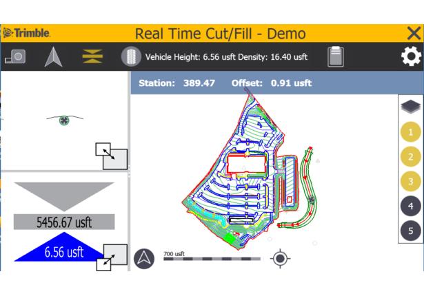Screenshot Windows Vehicle Mode