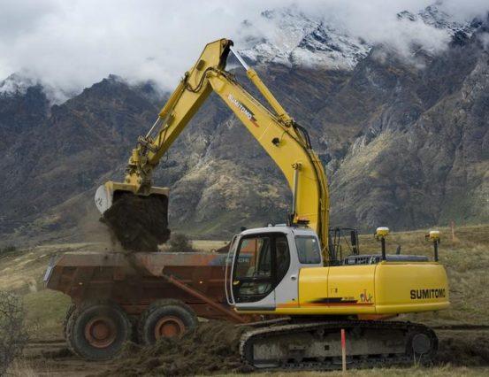 Sumitomo GCS900 Dual GPS Excavator 001-LR
